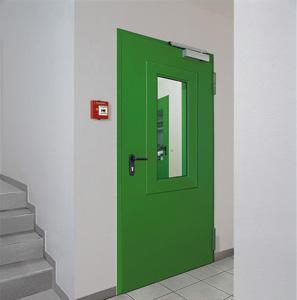 Назначение противопожарных дверей