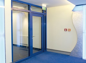 Наружная противопожарная дверь