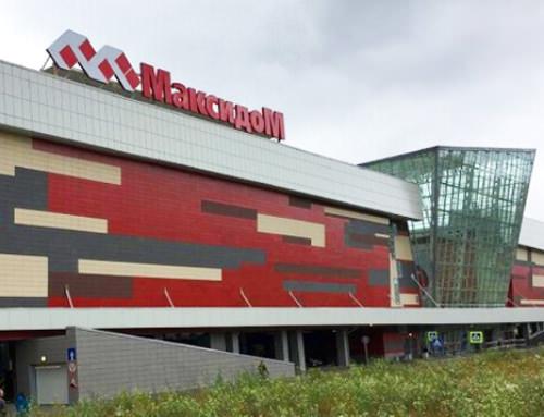 Производство и монтаж  противопожарных штор EI60 и противопожарных дверей EI60 для гипермаркета «Максидом»