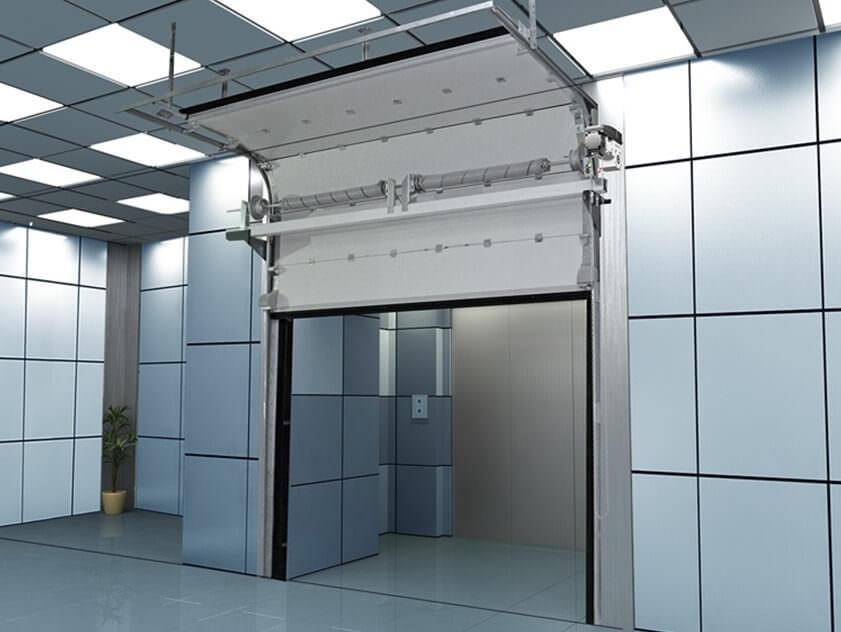 Подъемно-секционные ворота