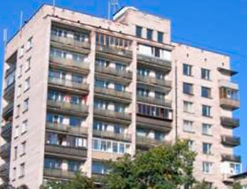 Противопожарные светопрозрачные перегородки EIW для ТСЖ «Архитектор»