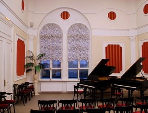 Производство и монтаж противопожарных дверей для музыкальной школы имени Римского-Корсакова